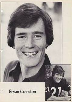 Its not college but high school 1975-76 Bryan Cranston