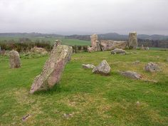scotland stone circles | Tomnaverie Stone Circle