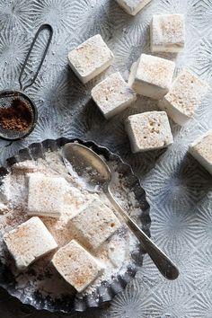 Eggnog Marshmallows via Bakers Royale
