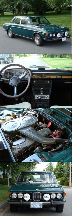 1973 BMW Original well kept condition. Love the retro radio head unit! Golf 4, Bmw Classic Cars, E30, Bmw Cars, Bavaria, Exotic Cars, Cars And Motorcycles, Vintage Cars, Cool Cars