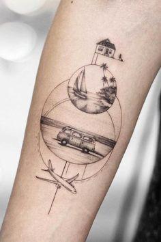 hippie tattoo 510736413990852940 - Tattoo idea for a traveler Source by laetitiapelisso Mini Tattoos, Cute Tattoos, Body Art Tattoos, New Tattoos, Small Tattoos, Finger Tattoos, Globe Tattoos, Woman Tattoos, Thigh Tattoos