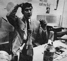 Marcello Minale Snr in 1965, dreaming up his next concept.  Picture appeared in The Sunday Telegraph in 1966, introducing the next crop of fresh young designers.