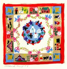 Mary Blair - Patchwork Quilt