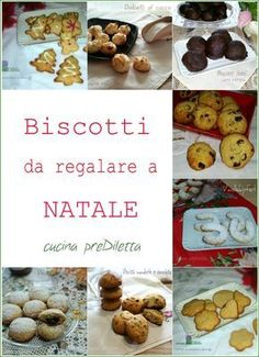 Christmas Food Gifts, Christmas Sweets, Christmas Baking, Xmas Cookies, No Bake Cookies, Christmas Biscuits, Biscotti Cookies, Italian Christmas, Cake & Co