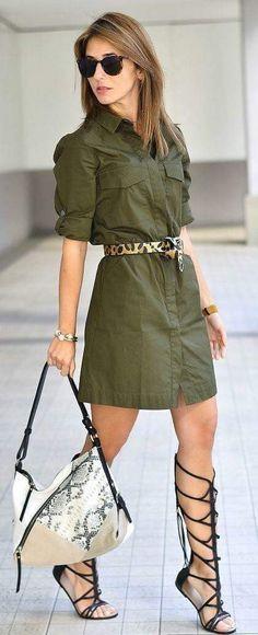 Modelos de vestido verde - Easy Tutorial and Ideas