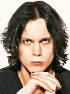 sexy Ville Valo, one of the few men that I will make an exception for when wearing makeup or nail polish lol