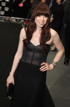 Singer Carly Rae Jepson arrives at the Marina Bay Sands on Thursday, May 23, 2013 in Singapore for the inaugural Social Star Awards. (AP/Wong Maye-E)