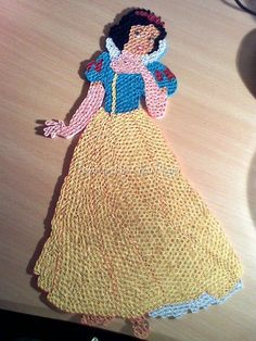 Quilling - Pictures about cartoon: unknown artist