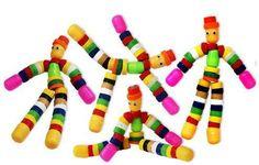 muñecos con tapas de plastico - Buscar con Google