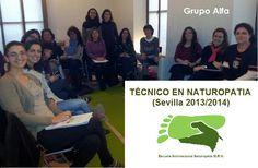 Nuestro grupo Alfa de Técnico en Naturopatía presencial Sevilla...nos sentimos muy orgullosos de vosotros...