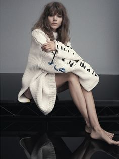 Personal Best editorial Russh June/July 2014 Freja Beha Erichsen lensed by Benny Horne and styled by Gillian Wilkins