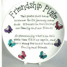 Friendship Plate Project Idea using Vinyl Sharpie Plates, Sharpie Crafts, Diy Sharpie Mug, Sharpies, Dollar Store Crafts, Crafts To Sell, Homemade Gifts, Diy Gifts, Giving Plate