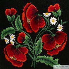 Pakamera.pl - torby - damskie - łowickie MAKI (Art Embroidery) // Polish embroidery, Łowicz