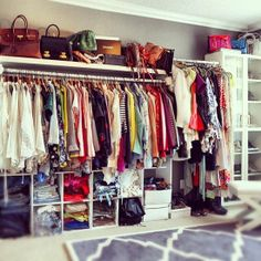 Organize a Closet    Everyone — even Rachel Zoe— can use a little help organizing her wardrobe space.    What it takes: Getting rid of clothes that are outdated, that no longer fit, or that are damaged. Help your friend arrange items that are worth keeping in a way that's convenient (by color, season, style, length) and easy to see.    Typical cost: $50-$100 per hour.