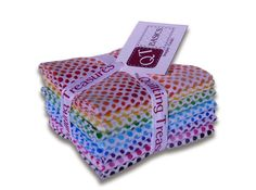 Ombre Dots in Fat Quarter bundle by TheBarrSpool on Etsy, $28.50