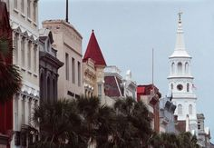 A view of Charleston on Broad st.(Matthew Fortner/Staff/File).