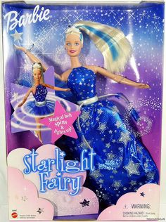 Starlight Fairy Barbie (2001). Of course I had this one
