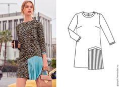 Как сшить стильное платье из джинсовой рубашки - Ярмарка Мастеров - ручная работа, handmade