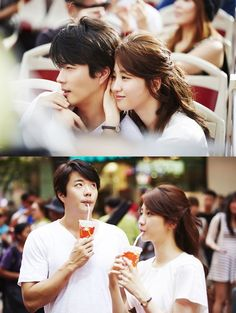 """Kwon Sang Woo and Park Ha Sun Rock the Couple Look in """"Temptation"""""""