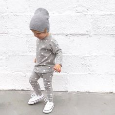 Toddler Boys Clothes ~ Greys for days  @littleneedham (IG) thanks for the outfit inspo   www.tinystyle.com.au  #coolkids #boysfashion #converse #conversekids #beauhudson #kippkids #tinystyle #noosakids #toddlerboysclothes Boys Converse, Toddler Converse, Outfits With Converse, Toddler Boy Outfits, Toddler Boys, Baby Kids, Baby Shoes Online, Beau Hudson, Cool Kids
