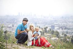 Spring Family Photoshoot in Los Angeles | Oh Lovely Day | Photos by Jennifer Roper