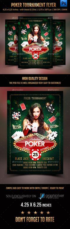 Poker Tournament Flyer