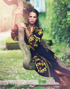 Duchess Dior: Alicia Vikander by David Bellemere for The Edit Magazine July 2015