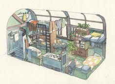 Fantasy House, Fantasy Art, Bg Design, Isometric Art, Modelos 3d, Cute House, Environment Concept Art, Anime Scenery, Aesthetic Art