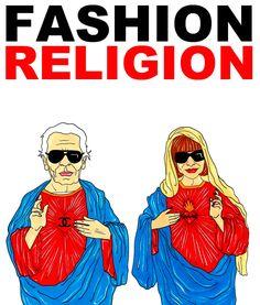 Fashion Religion de aleXsandro Palombo con Karl Lagerfeld y Anna Wintour documental Mode Als Religion