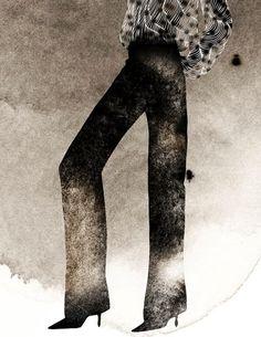 Fashion Illustration by Kareem Iliya