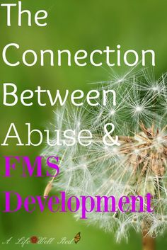 Validating Post-Traumatic Fibromyalgia 2 ~ The Connection Between Abuse & FMS Development
