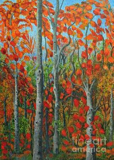 I Love Fall Print By Holly Carmichael
