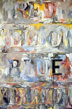 Jasper Johns, By The Sea, 1961