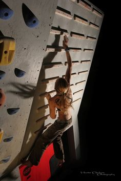 How to train on a campus board. I need to get my strength up! This is definitely on my climbing bucket list.