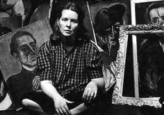 The place where I had freedom most was when I painted. I was completely and utterly myself. ~ Alice Neel