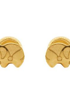 Youth Elephant Earrings with Safety Backs & Gift Box     Quality - 14K Yellow    Size - PAIR 4.50 x 7.50 MM     Finish - Polished     Series Description - ELEPHANT EARRING W/ SAFETY BACK & BOX     Weight: 0.2 DWT ( 0.31 grams)      ST-192007    Visit our website at http://www.thesgdex.com  The Silver Gold & Diamond Exchange  WE BUY | SELL | TRADE | CONSIGN | AUCTION | APPRAISE