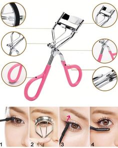 2016 Delicate Women Eyelashes Curler Professional Lash Curler Nature Curl Style Cute Curl Eyelash Curlers- Silver Beauty Tools