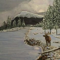 Terry Tuley: Artist Website Acrylic Paintings, Landscape Paintings, Canvas Prints, Framed Prints, Local Artists, Beautiful Landscapes, The Great Outdoors, Moose Art, Fine Art