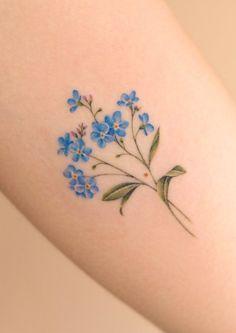 Elegant Tattoos, Dainty Tattoos, Sweet Tattoos, Pretty Tattoos, Mini Tattoos, Cute Tattoos, Beautiful Tattoos, Body Art Tattoos, Flower Tattoo On Ankle