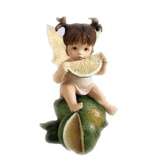 Lime Pucker Fairie - From Series One of the My Little Kitchen Fairies collection