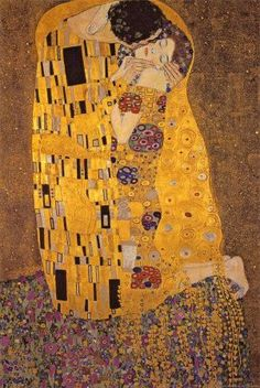 On my top ten list of art pieces  The Kiss, c.1907  Gustav Klimt