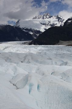 Glaciar Exploradores, Pto Tranquilo, Chile. Monte San Valentín