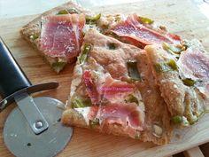 Foodie in Translation: La Rubrica del Lunedì: Pizza peperoni verdi e pros...