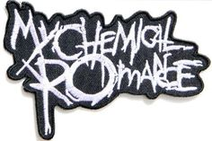 MY CHEMICAL ROMANCE Heavy Metal Rock Punk Music Band Logo Polo T shirt Patch Sew Iron on Embroidered Badge Sign, http://www.amazon.de/dp/B00JTHDPLG/ref=cm_sw_r_pi_awdl_a2g6wb151N39F