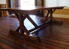 8 ft. Chavers X Farm Table Restoration Hardware X by youreunique