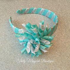 Elsa Inspired Headband  Elsa Frozen by TrulyMagicalBoutique