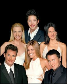 F.R.I.E.N.D.S. face-swapping. probably the funniest thing you'll see on Pinterest all day.