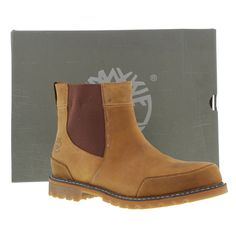 Timberland Boots, Shoes, Mens Chestnut Ridge Chelsea Waterproof Brown [5538A] - £129.99