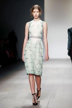 Marios Schwab Fall/Winter 2012 collection.