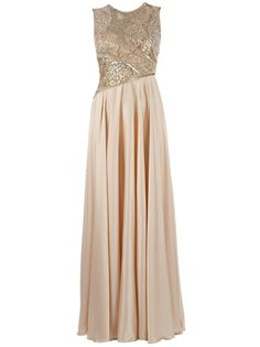 GEORGES MAK - sequin embroidered long dress 6